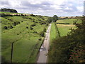 SE9243 : The view from the top of the old railway bridge at Kipling Cotes Station by Andy Beecroft