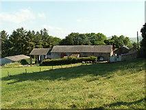 SN6181 : Barn, Fronfraith by Nigel Callaghan
