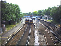 TQ2773 : Wandsworth Common Station. by Noel Foster