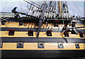 SU6200 : HMS Victory - broadside on by Nigel Freeman