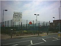 TQ2672 : Battersea Ironsides club, Burntwood Lane (B229). by Noel Foster