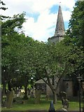 NZ2568 : St Nicholas' Church, Gosforth by Lis Burke
