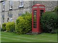 SE6679 : Old red telephone box at Nunnington by Colin Grice