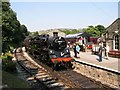 SE0335 : Oxenhope Station, Keighley & Worth Valley Railway. by Alan Fleming