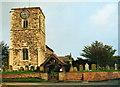 TA2438 : Aldbrough Church by Andy Beecroft