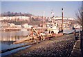 ST5772 : Dredger at Baltic Wharf  Bristol by Jack Hill