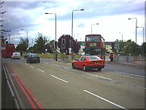 TQ2666 : Rosehill roundabout. by Noel Foster