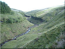 SN9920 : Gully at the foot of Pen-Y-Fan by GaryReggae