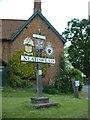 TG3420 : Neatishead village sign by GaryReggae
