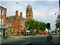 SJ9494 : Hyde Town Hall by Stephen Burton