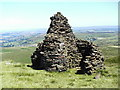 SE0332 : Cairn on Nab Hill by John Illingworth