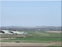 SU1533 : Old Sarum Airfield by Phil Smith