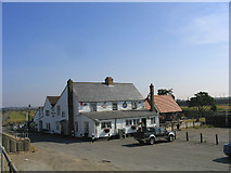 TQ6475 : Worlds End Public House, Tilbury Riverside, Essex by John Winfield