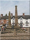 SJ7560 : Sandbach Crosses by Dennis Thorley