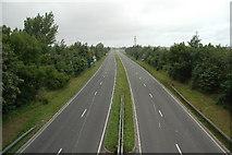 SJ6193 : A49, Winwick, near Warrington by andy