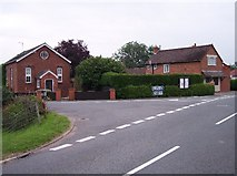 SO7631 : Playley Green Post Office and old Chapel by Bob Embleton
