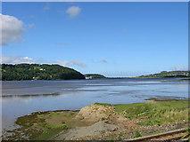 SH8076 : Conwy Estuary from Llansanffraid by John Radcliffe