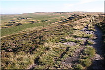 SE0029 : Footpath, Deer Stones Edge by Mark Anderson