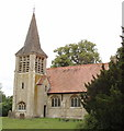 SP7406 : St Nicholas Church, Kingsey by David Hawgood