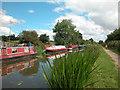 SJ4172 : Shropshire Union Canal Moorings by Dennis Turner