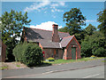 SJ4474 : Church Hall Thornton le Moors Cheshire by Dennis Turner