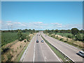 SJ3972 : M56 Motorway by Dennis Turner