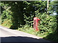 SW5236 : Telephone box on Lelant Downs by Sheila Russell