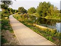 TL4963 : New cyclepath along the Cam by David Gruar