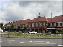 SJ4191 : Dovecot shops by Sue Adair