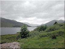 NH1409 : Loch Cluanie by Dennis Turner