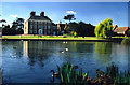 TQ3398 : Forty Hall and Lake by Christine Matthews