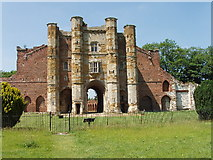 TA1118 : Thornton Abbey - The Gatehouse by David Wright