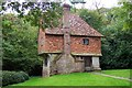 TQ4742 : Hole Cottage, near Cowden, Kent by Ron Strutt