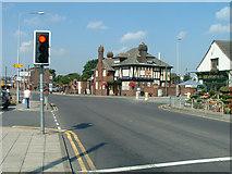 SD5305 : Orrell Post Crossroads by David Hignett