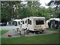 SJ4173 : Chester Fairoaks Caravan Club Site by John Nickolls