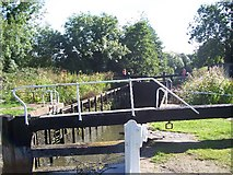 SU6570 : Garston lock, Lock 102 on Kennet & Avon canal by Keith Rose