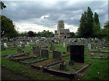 TQ3574 : Camberwell New Cemetery SE23 by Philip Talmage