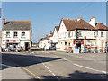 SW8873 : St Merryn shops by David Hawgood