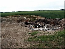 TA0706 : Old Rural Rubbish Pit by David Wright