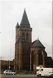 SJ6089 : St Ann's Church (North West Face), Warrington by S Parish