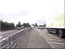 SO8251 : Bowling Green Traffic Lights, Powick by Bob Embleton