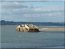 SU6800 : MulberryCaisson, Langstone Harbour by Anthony Brunning