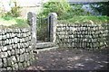 SW6129 : The Gate and Wall by Ken Ballinger