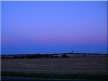 SE4514 : Harvested Corn Fields - Badsworth by Paul Johnston-Knight