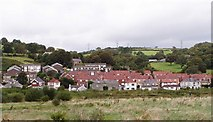 SN4701 : Part of the Village of Pwll Near Llanelli by David Lewis