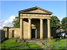 SK3897 : Doric Lodge, Wentworth by Christopher Thomas