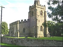 SK3927 : Weston on Trent Parish Church by David Grimshaw