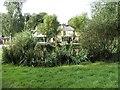 TQ2493 : Pond with Orange Tree Public House in background by Christine Matthews