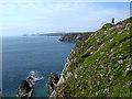 SM7624 : Pembrokeshire coastal path by Mike Williams