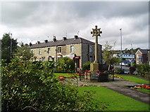 SD8614 : Norden War Memorial, near Rochdale, Lancashire by Dr Neil Clifton